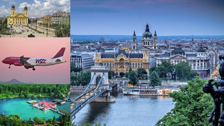 Wizzair - бюджетные перелёты в Венгрию