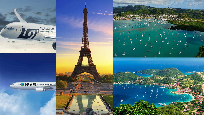 Французские карибы по цене ЮВА: 28т. туда-обратно, Париж бонусом (МСК, СПБ)